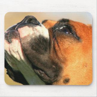 Boxer pup mousepad
