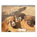 Boxer Puppies 2015 Calendar
