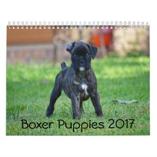 Boxer Puppies 2017 Calendar