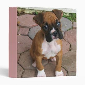 Boxer puppy binder