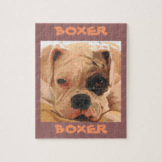 "Boxer Puppy ""Black Eyed"" Puzzle"