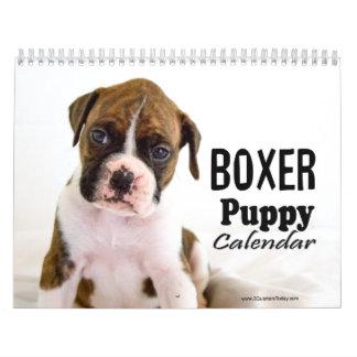 Boxer Puppy Calendar