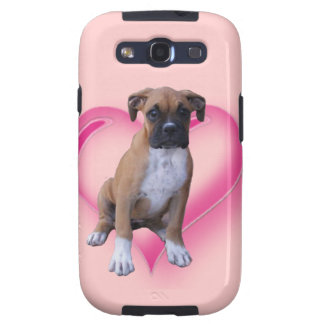 Boxer puppy galaxy SIII cases