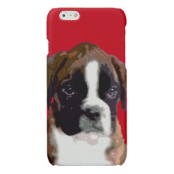 Case Savvy iPhone 6 Glossy Finish Case with Boxer Phone Cases design
