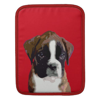 Boxer puppy dog sleeve for iPads