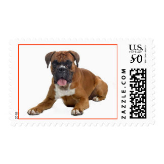 Boxer Puppy Dog US Postage Stamps