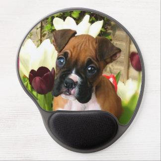 Boxer puppy gel mousepad