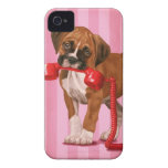 Boxer Puppy iPhone 4 Cases