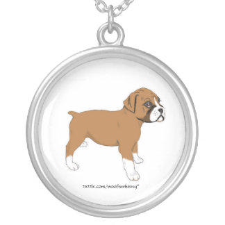 Boxer Puppy Necklace