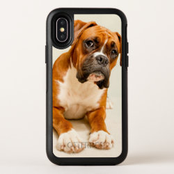 OtterBox Apple iPhone X Symmetry Case with Boxer Phone Cases design