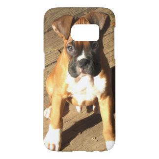 Boxer puppy Samsung Galaxy S7 Case