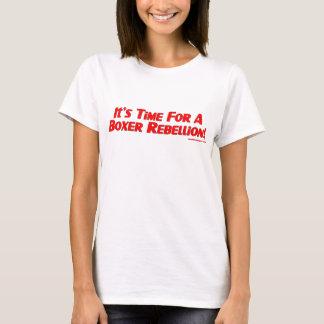 Boxer Rebellion Ladies T-shirt