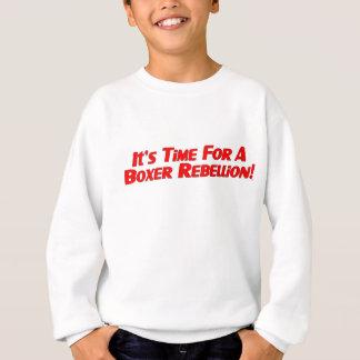 Boxer Rebellion / Vote Ma'am Out Kids Sweatshirt