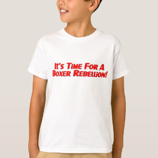 Boxer Rebellion / Vote Ma'am Out Kids T-shirt