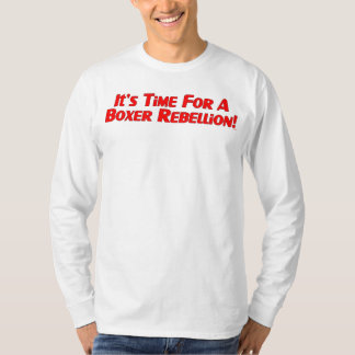 Boxer Rebellion / Vote Ma'am Out Long Sleeve T-Shirt