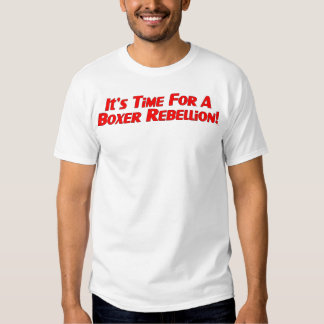 Boxer Rebellion / Vote Ma'am Out T-shirt
