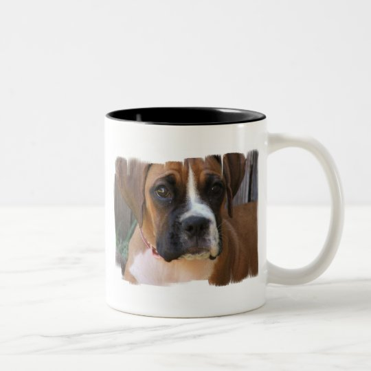 Boxer Rescue Ceramic Coffee Mug