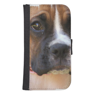 Boxer Rescue Wallet Phone Case For Samsung Galaxy S4