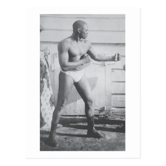 Boxer Sam Langford Postcard