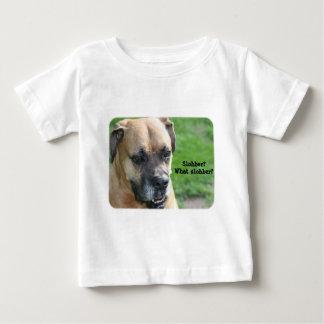 Boxer:  Slobber? What Slobber? Baby T-Shirt