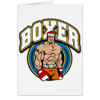 Boxer Sparring Partner Card