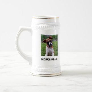 Boxer Stein Coffee Mugs