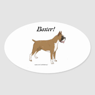 Boxer! Sticker