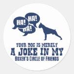 Boxer Stickers