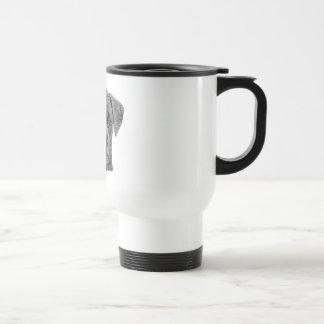 Boxer Stylized Image Coffee Mugs