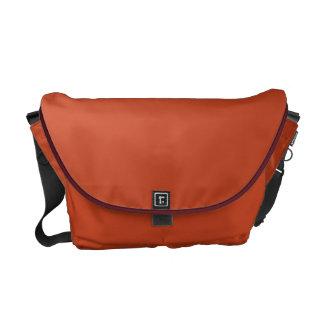 Boxer ~ Tan Leaves Motiff Messenger Bag