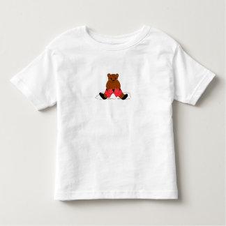 Boxer Teddybear Toddler T-shirt