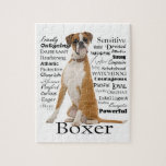"Boxer Traits Puzzle<br><div class=""desc"">This puzzle is a perfect gift for any Boxer lover.</div>"
