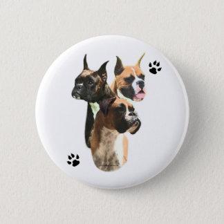 Boxer Trio - Button