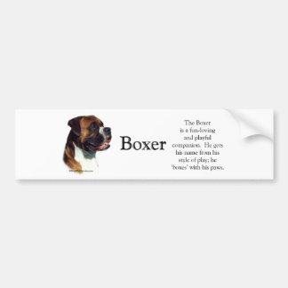 Boxer Trivia Bumper Sticker