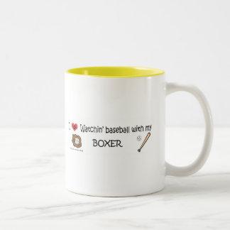 BOXER Two-Tone COFFEE MUG