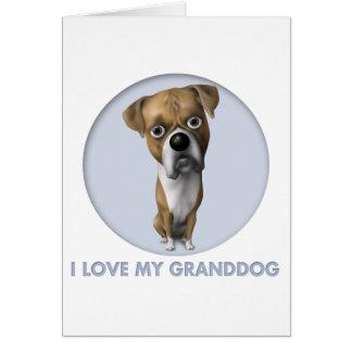 Boxer (Uncropped) Granddog Card