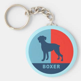 Boxer US style keychain