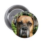 Boxer:  Velvet-covered Love Pin