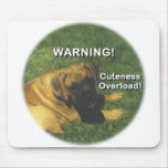 Boxer: Warning! Cuteness Overload! Mouse Pad