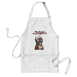 Boxer: What the Heck! Adult Apron