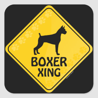 Boxer Xing Stickers