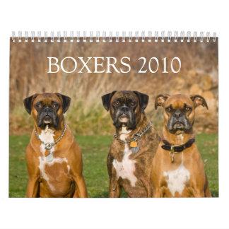 BOXERS 2010 CALENDAR