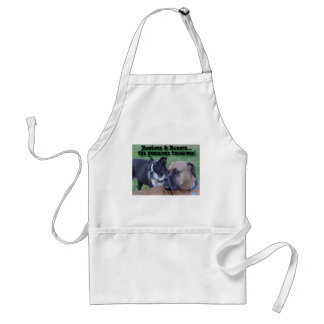 Boxers and Bostons Adult Apron