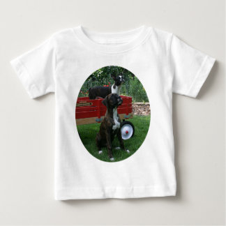 Boxers and Bostons: Little Sweethearts Baby T-Shirt