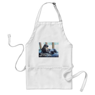 Boxers and Bostons Make a House a Home Adult Apron