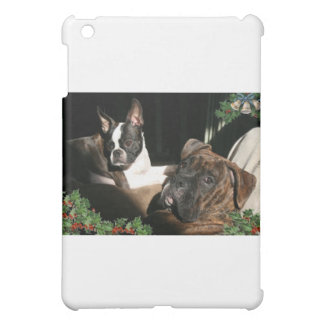 Boxers and Bostons: Pals iPad Mini Cover