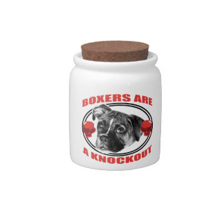 Boxers Are A Knockout Candy Jar