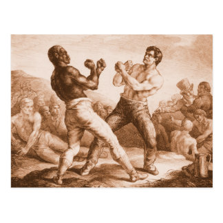 Boxers by Gericault Postcard