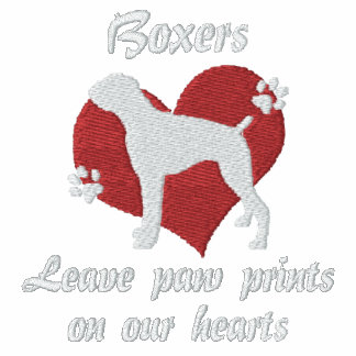 Boxers Leave Paw Prints