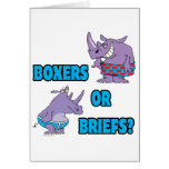 boxers or briefs funny undies rhinos greeting cards